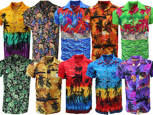 MENS-HAWAIIAN-SHIRT-STAG-BEACH-HAWAII-ALOHA-PARTY-SUMMER-HOLIDAY-FANCY