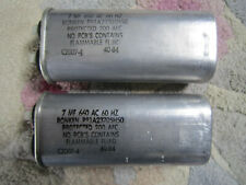 Ronken P61C23256H50 25MF 660 AC 60 Hz Capacitor with Bracket