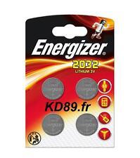 4 X pile energizer CR2032 porte clef calculatrice montre alarme balance jeux
