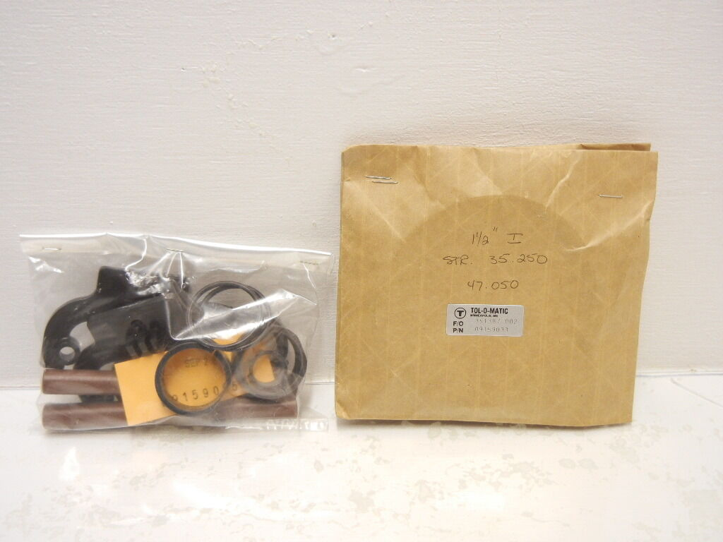 TOL-O-MATIC 351387 002 NEW  09159065 REPAIR KIT WITH 09159033 STRIPS 351387002