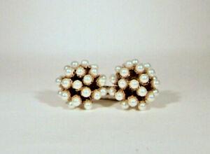 Vintage-stile-orecchini-perle-ovali-gioielli-italiani-stile-antico-della-nonna