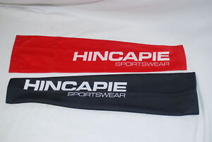 Hincapie-Cycling-Thermal-Arm-Warmers-Small-Black-Red-Mens-Winter-Road-Bike-NEW