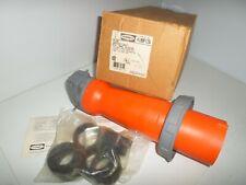 New In Box Hubbell Hbl4100p12w 100 Amp Plug 4100p12w 100a 125250v 3p4w