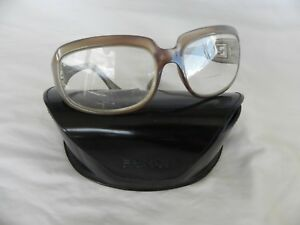 Details about FENDI FS 410 Rx Sun/glasses Frames Gold/Taupe 64[]17-125 Logos