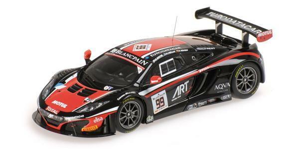 Minichamps McLaren 12 C équipe  GT3 Art 1 43 437141399  qualité officielle