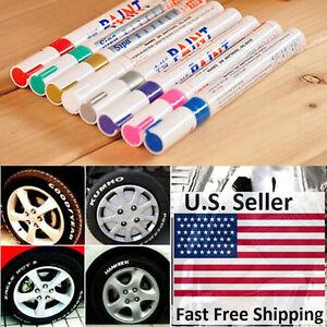 Universal Waterproof Permanent Paint Marker Pen Car Tyre Tire Tread Rubber Metal