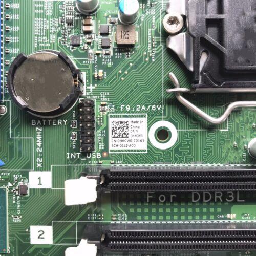 For DELL OPX 3040MT Series Desktop Motherboard CN-0HKCW0 0HKCW0 HKCW0 LGA1151