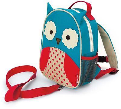 Skip Hop Zoolet Mini Zaino Con Redini-owl Bambini Vestiti Borse Bn-mostra Il Titolo Originale Saldi Estivi Speciali