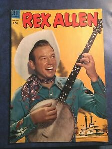 DELL-Comics-Rex-Allen-9-June-1953