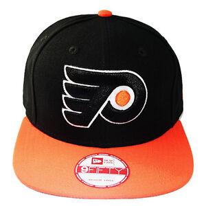 New-Era-NHL-Philadelphia-Flyers-Classico-Arancione-Nero-Berretto-Baseball
