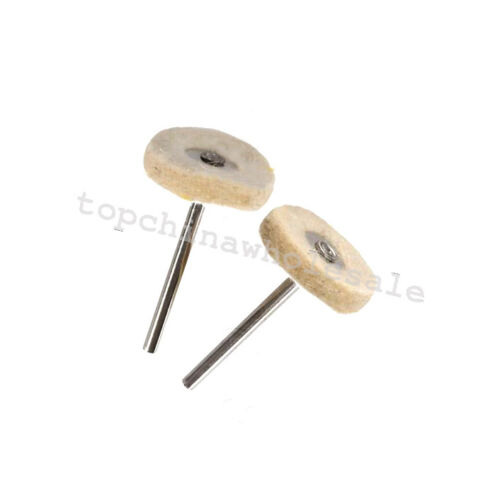 10 Wool Felt Polishing Buffing Drill Grinder Wheel Brushes Rotary tool for metal