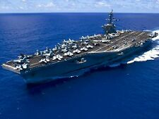 USS CARL VINSON CVN-70 8X10 PHOTO NAVY US USA MILITARY NIMITZ-CLASS AIRCRAFT CAR