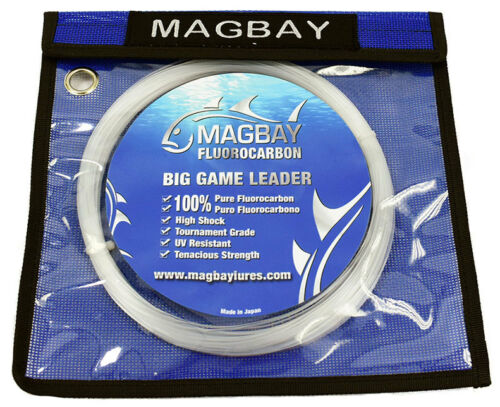 100/% Japanese Fluorocarbon 33 Yds FLUOROCARBON FISHING LEADER 130 lbs 30M