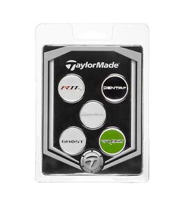TaylorMade-TM-Ball-Marker-5-Pack-Ball-Marker-Set-New