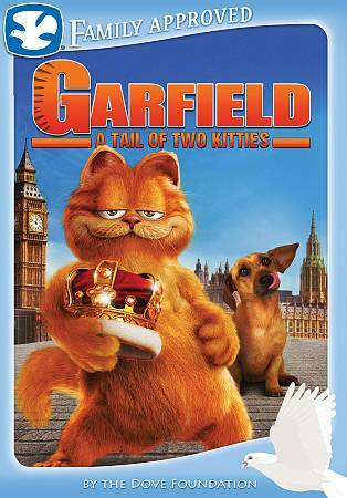 Garfield A Tail Of Two Kitties Dvd 2009 Dual Side Movie Cash For Sale Online Ebay