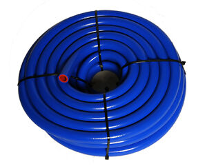 """1//2/""""13mm.5/"""" ID SILICONE HEATER HOSE HIGH PERFORMANCE .16 WALL THICK BLUE"""