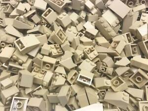 bulk incline wedge house roof inverted city 50 Lego Dark Red Slope Pieces Lot