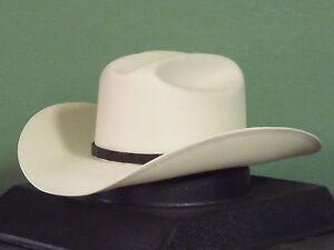 STETSON EVILLA DE ORO 1000X SHANTUNG PANAMA STRAW COWBOY WESTERN HAT ... 0aed2a4d52d