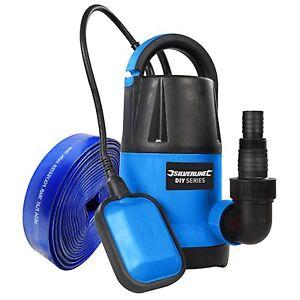 Silverline À faire soi-même Submersible Pompe à eau 250 W - 5 m Tuyau Rapide Débit 5000 litres-hr-afficher le titre d`origine xVMTza2f-07202252-287308362