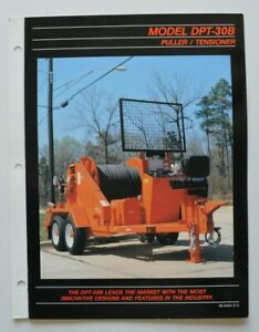 TIMBERLAND-DPT-30B-Puller-Tensioner-1990s-dealer-brochure-English-USA