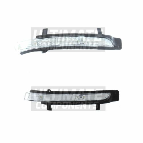 Skoda Superb 3T Hatchback 2008-2015 Non LED Wing Mirror Indicators Clear 1 Pair
