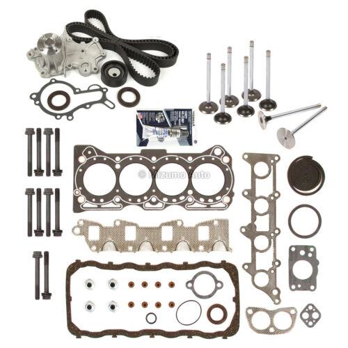 Head Gasket Set Valves Timing Belt Kit Fit 89-95 Geo Tracker Suzuki 1.6L G16KC