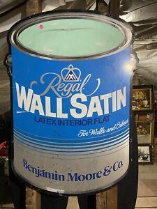 Vintage-Metal-Sign-Large-Benjamin-Moore-paint-advertising-Large