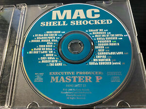 Mac Shell Shocked CD ONLY Mint No Limit Records Mercedes ...