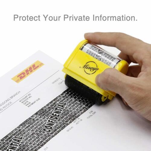 "1.5/"" Wide Roller Identity Theft Stamp Privacy Protection Shredder Alternative UK"