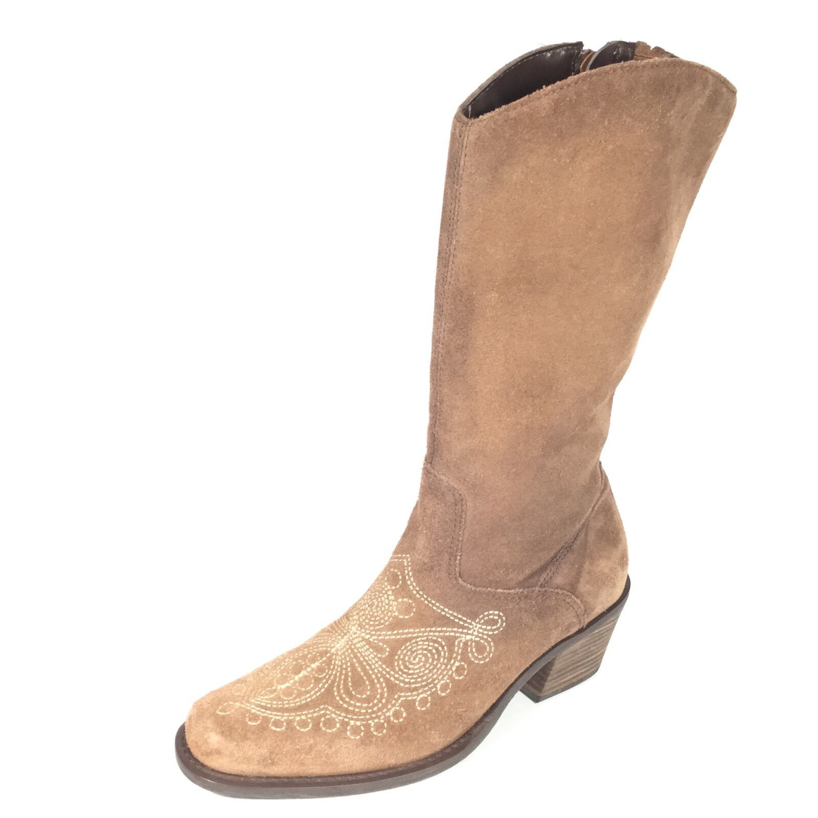 Dc.Schools Lasso Women's Size 6 M Brown Suede  Boots