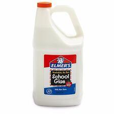Elmer's Liquid School Glue Washable 1 Gallon 1 Count NEW School Creativity Slime
