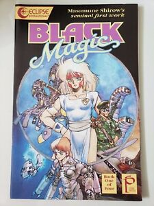 Black Magic Book 1 1990 Eclipse Manga Masumune Shirow Ghost In The Shell Ebay