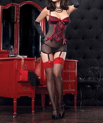 Modestil One Plus Size Sexy Babydoll Lingerie Red Black 10 12 14 16 18 20 22 24 26 Rbm üBerlegene Leistung
