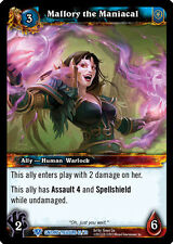WARCRAFT WOW TCG CAVERNS OF TIME : MALLORY THE MANIACAL X 4