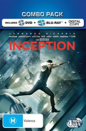1 of 1 - Inception (Blu-ray, 2010, 2-Disc Set)