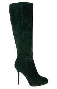 1 295 sergio boots knee high green