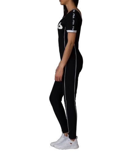fila jumpsuit. new fila high neck unitard legging jumpsuit with front zip lw171xs9 gina unitard