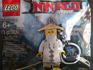 LEGO-ninjago-Film-Master-Wu-Cle-Chaine-5004915-Sac-en-Plastique-Neuf-Emballe