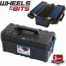 "NEW Draper 45CM 18"" INCH CANTILEVER HEAVY DUTY TOOL BOX CASE ABS PLASTIC 14709"