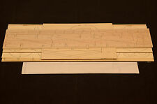 "1/16 Scale GRUMMAN E2C HAWKEYE Laser Cut Short Kit & Plans 59.5""WS ELECTRIC"