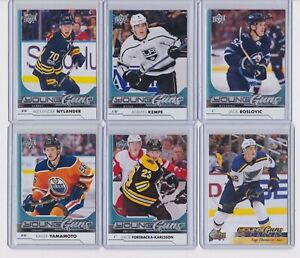 2017-18-Upper-Deck-Young-Guns-Complete-Your-Set-Canvas-Clear-Cut-Rookies-PICK