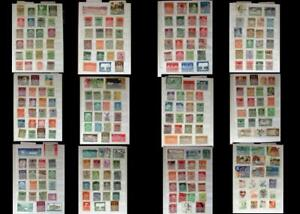 Stamp Collection Germany Bayern DDR & a Few From US, Free Shipping Worldwide