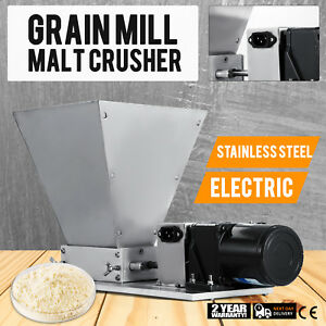 Details about Electric Grain Mill Barley Grinder Malt Crusher Grain Mill  Home Brew Mill Dy-368