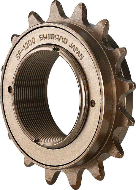 BMX Shimano FREE WHEEL  SF 1200 Single Freewheel 16t x 1 8  Single speed brown