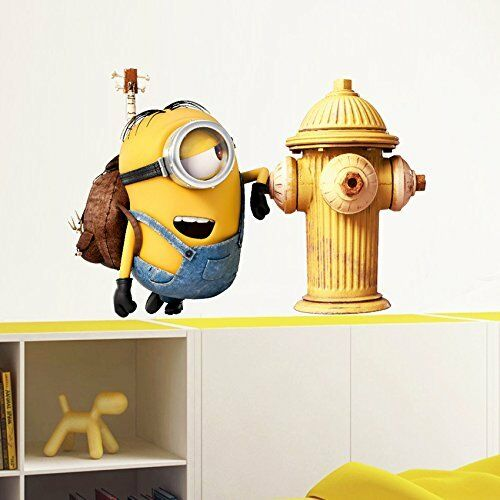 Minions -  Fire Hydrant - Stickers Official Collection