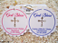 10-White-Gift-Tags-Religious-Cross-Christening-Bomboniere-Personalised-Baptism miniature 1
