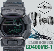 Casio G-shock Gd-400mb-1d Black Original Sport Mens Watch 200m WR Gd-400