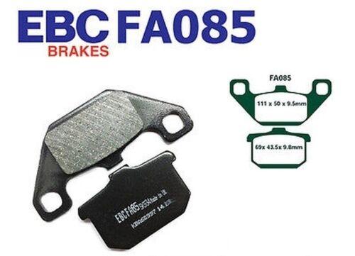 EBC Bremsbeläge Bremsklötze FA085 HINTEN Kawasaki GPZ 750 E1//E2 Turbo 84-87