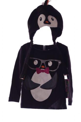 Baby Girls Infant Toddler Penguin Winter Stocking Cap LS Shirt Top Hat 2T 3T NEW