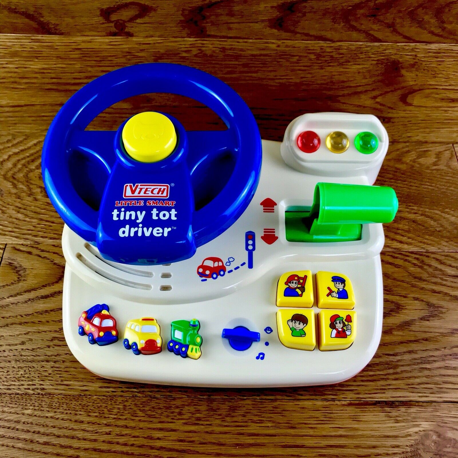 Vtech Little Smart Tiny Tot Driver Vintage Toys Superb Condition Fully Working